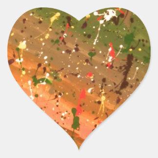 Deja Vu Heart Sticker