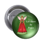 Dejado haya botón de la paz pin