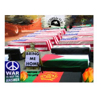 Dejado haya peace_Postcard Tarjeta Postal