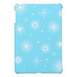 ¡Dejado lo copos de nieve! iPad Mini Carcasas