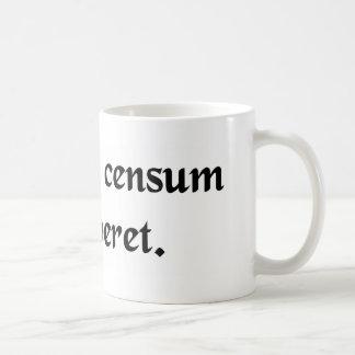 Dejado no su gasto exceda su renta taza de café