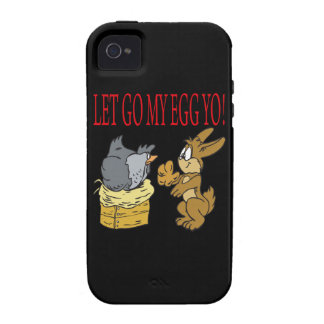 Dejado va mi huevo Yo iPhone 4/4S Carcasa