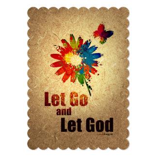 """Dejado vaya dejar a dios (el programa de la invitación 5"""" x 7"""""""
