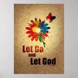 Dejado vaya dejar a dios (el programa de la póster