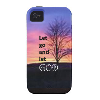 Dejado vaya dejar a dios Case-Mate iPhone 4 carcasas