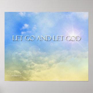 Dejado vaya dejar a dios - impresión del cielo impresiones