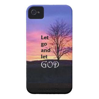 Dejado vaya dejar a dios iPhone 4 protectores