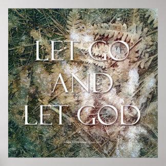 Dejado vaya dejar a dios - poster de los helechos