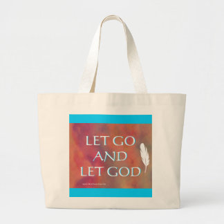 Dejado vaya dejar el bolso de dios bolsa tela grande