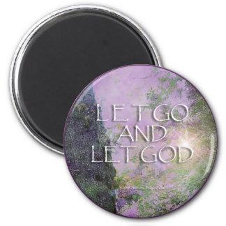 Dejado vaya dejar el imán del árbol 2 de las lilas