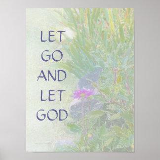 Dejado vaya dejar el jardín del verano de dios imp posters