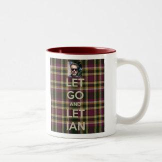 Dejado vaya dejar la taza de Ian