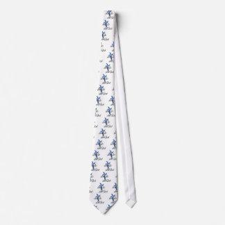 Dejado vaya deje al cristiano de dios corbatas personalizadas