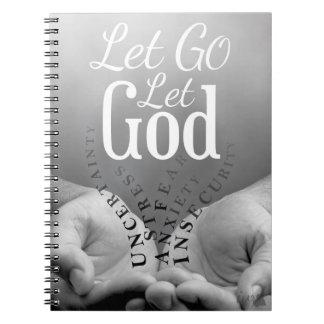 Dejado vaya deje el cuaderno de dios