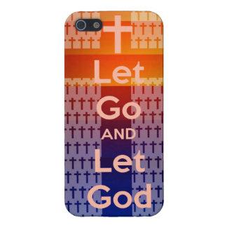 dejado vaya deje el iphone de dios iPhone 5 carcasa