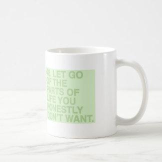 Dejado vaya taza de café