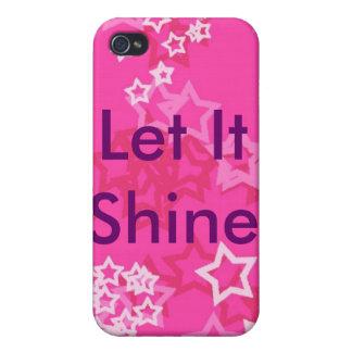 Dejáis le brillar iPhone 4 funda