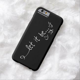 Dejáis le esté con las palomas - tatúe el arte funda para iPhone 6 barely there