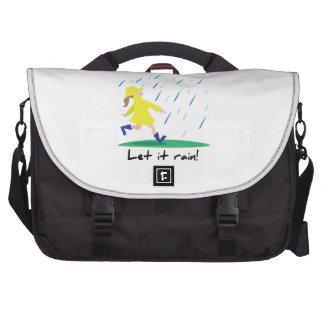 Dejáis le llover bolsas para portatil
