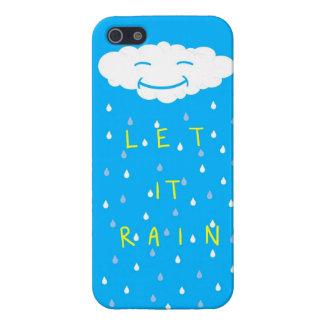 Dejáis le llover iPhone 5 protector