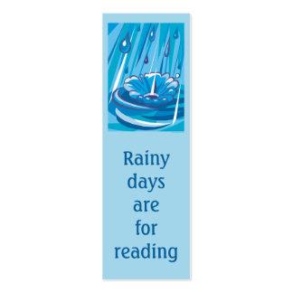Dejáis le llover tarjetas de visita mini