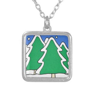 ¡Dejáis le nevar! , Árboles de navidad nevados Joyeria Personalizada