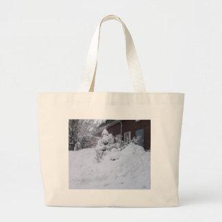 Dejáis le nevar bolsa tela grande