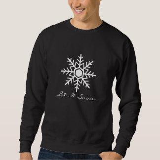 Dejáis le nevar camiseta larga unisex de la manga sudaderas encapuchadas