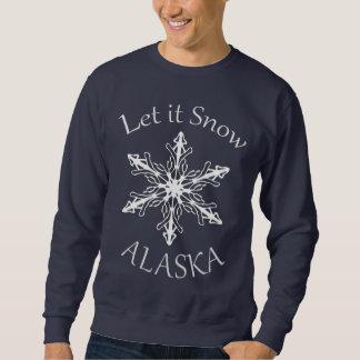 Dejáis le nevar camiseta para hombre de los azules suéter
