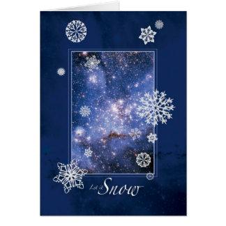 Dejáis le nevar con la nube de Magellanic grande - Felicitacion