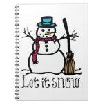 Dejáis le nevar cuadernos