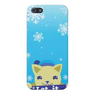 dejáis le nevar cubierta del iphone 4 iPhone 5 fundas
