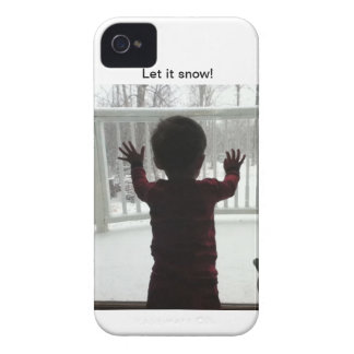 ¡Dejáis le nevar! Case-Mate iPhone 4 Carcasa