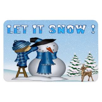 Dejáis le nevar imanes de la flexión del muñeco de