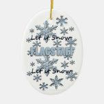 Dejáis le nevar ornamento del navidad de Arizona d Adorno De Navidad