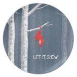 Dejáis le nevar plato para fiesta