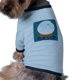 Dejáis le nevar camiseta con mangas para perro