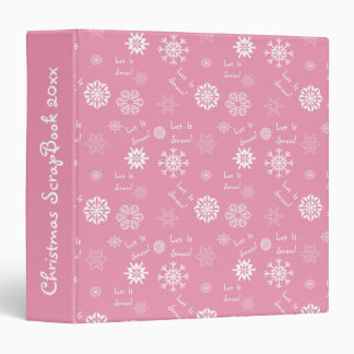 """Dejáis le nevar rosa carpeta 1 1/2"""""""