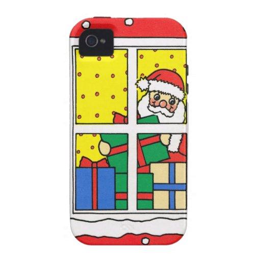 ¡Dejáis le nevar! , Santa en el trabajo Vibe iPhone 4 Funda