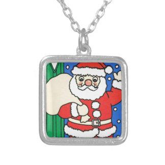 Dejáis le nevar, Santa en la entrada Grimpolas Personalizadas