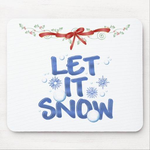 Dejáis le nevar tapetes de raton