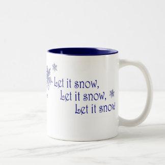Dejáis le nevar tazas de café