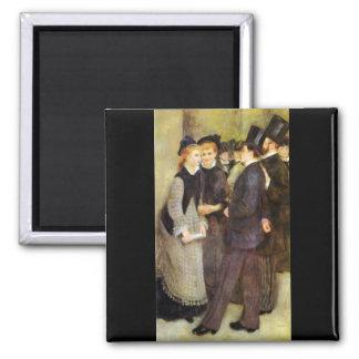Dejar el conservatorio de Pedro Renoir Iman Para Frigorífico