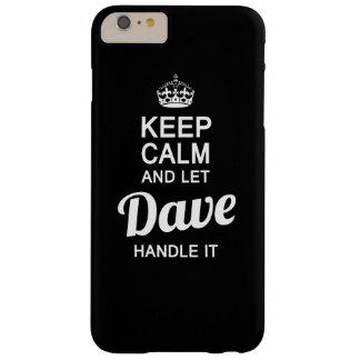 ¡Deje a Dave dirigirlo! Funda Barely There iPhone 6 Plus