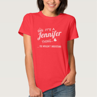 Deje a Jennifer dirigirlo Remeras