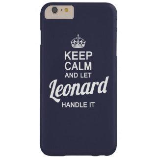 ¡Deje a Leonard dirigirlo! Funda Para iPhone 6 Plus Barely There