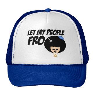 Deje a mi gente ir gorra