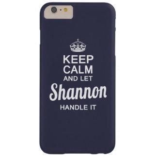 Deje a Shannon dirigirlo Funda Para iPhone 6 Plus Barely There