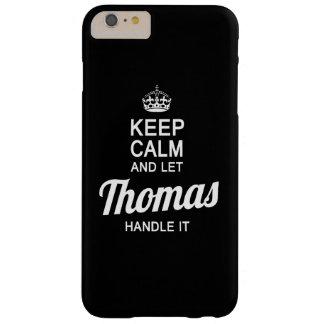 ¡Deje a Thomas dirigirlo! Funda De iPhone 6 Plus Barely There