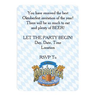 Deje al fiesta comenzar invitaciones del fiesta de invitación 12,7 x 17,8 cm